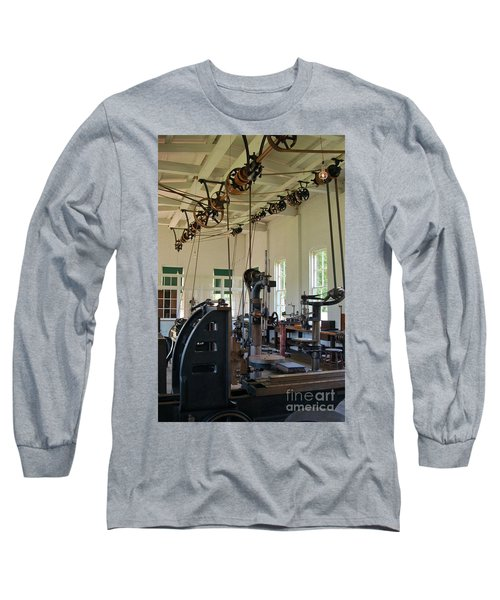 The Work Shop Long Sleeve T-Shirt by Patrick Shupert