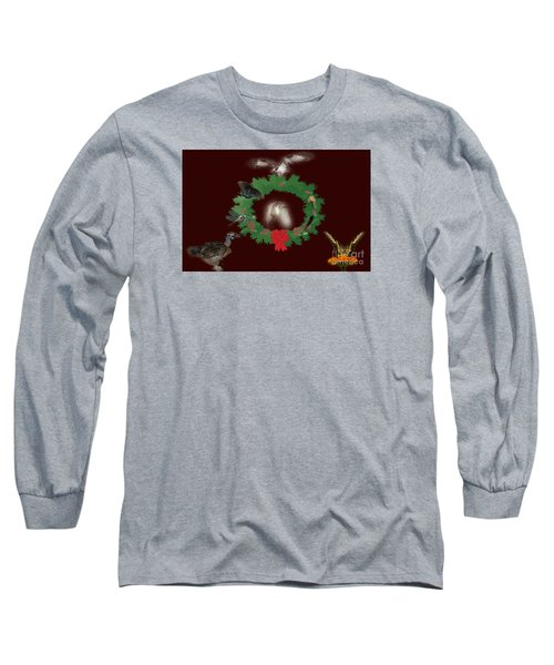 Long Sleeve T-Shirt featuring the photograph These Are A Few Of My Favorite Things 2 by Donna Brown