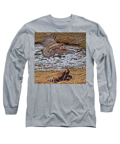 Threat From Above Long Sleeve T-Shirt