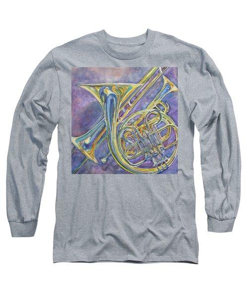 Three Horns Long Sleeve T-Shirt