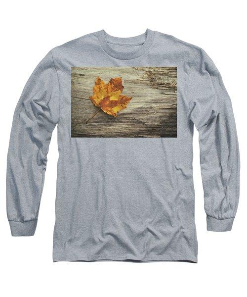 Three Leaves Long Sleeve T-Shirt