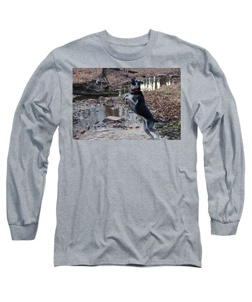 Throwing Stones Long Sleeve T-Shirt