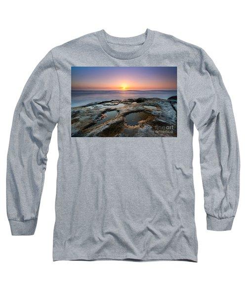 Tide Pool Sunset Long Sleeve T-Shirt