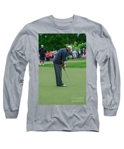 D12w-457 Tiger Woods Long Sleeve T-Shirt