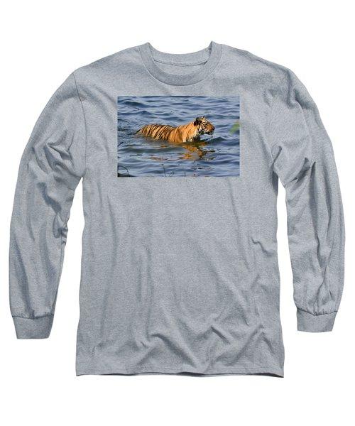 Tigress Of The Lake Long Sleeve T-Shirt