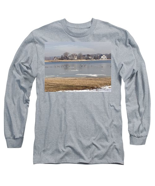 Time In New England Long Sleeve T-Shirt