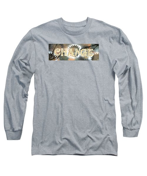 Time To Change Long Sleeve T-Shirt