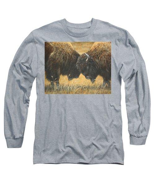 Titans Of The Plains Long Sleeve T-Shirt
