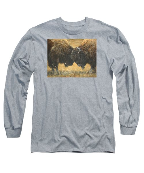 Titans Of The Plains Long Sleeve T-Shirt