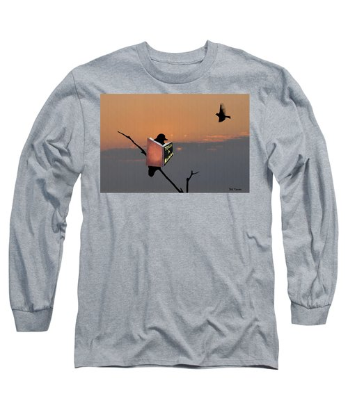 To Kill A Mockingbird Long Sleeve T-Shirt by Bill Cannon