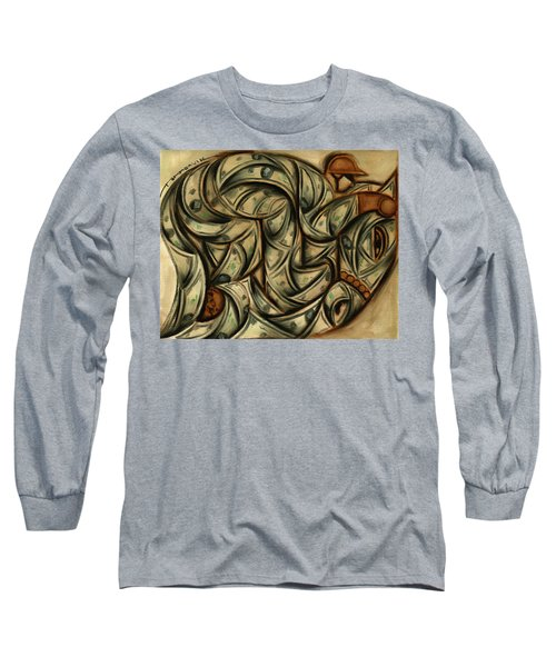 Tommervik Horse Racing Betting Art Print Long Sleeve T-Shirt