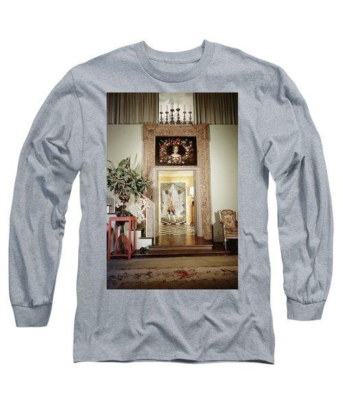 Tony Duquette's Entrance Hall Long Sleeve T-Shirt