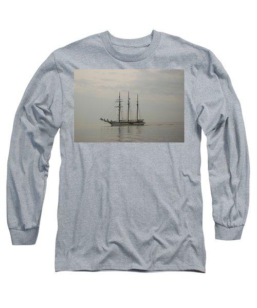 Topsail Schooner Mystic Long Sleeve T-Shirt
