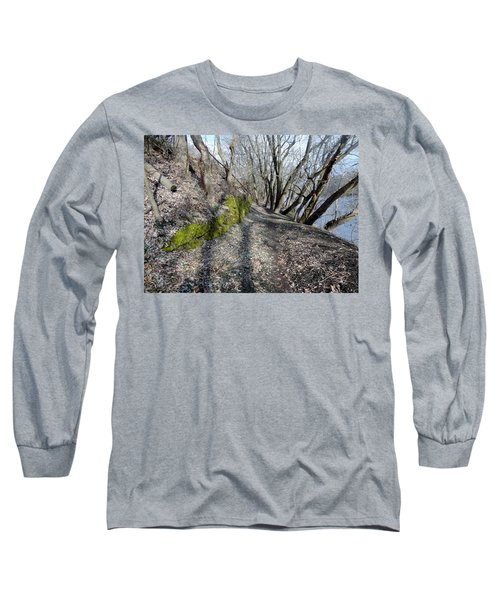 Long Sleeve T-Shirt featuring the photograph Touch Of Green by Michael Porchik