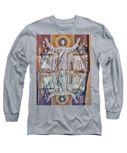 Touchdown Jesus Long Sleeve T-Shirt