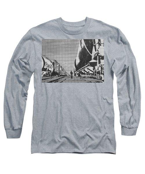 Train Graffiti  Long Sleeve T-Shirt