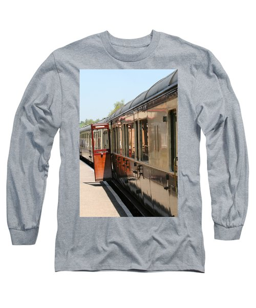 Train Transport Long Sleeve T-Shirt