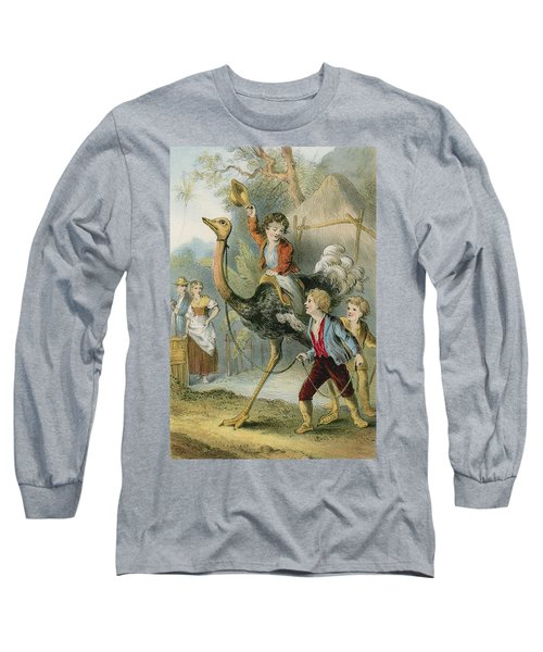 Training The Ostrich Long Sleeve T-Shirt