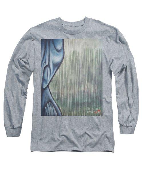 Tranquil Rain Long Sleeve T-Shirt