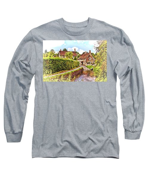Tranquil Stream Lacock Long Sleeve T-Shirt