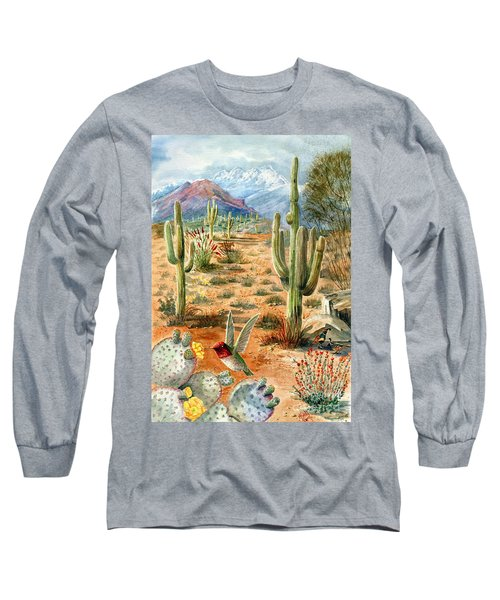 Treasures Of The Desert Long Sleeve T-Shirt by Marilyn Smith