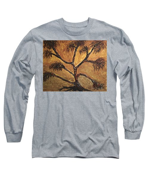 Tree Long Sleeve T-Shirt by Dick Bourgault