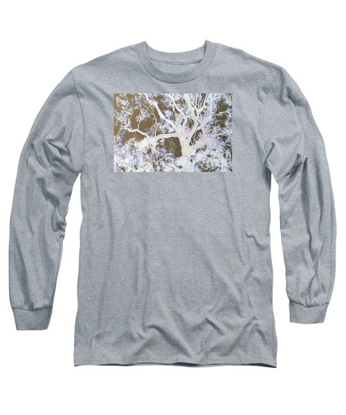 Long Sleeve T-Shirt featuring the photograph Tree Inversion by Cassandra Buckley