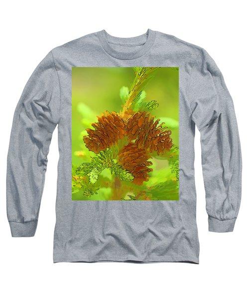 Tri Cones Long Sleeve T-Shirt