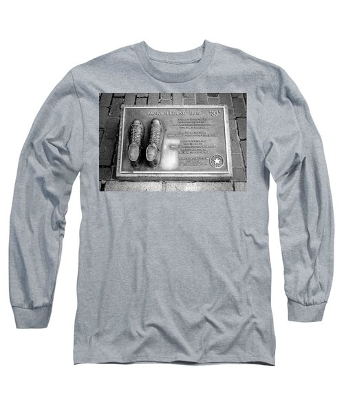 Tribute To The Bird Long Sleeve T-Shirt by Greg Fortier
