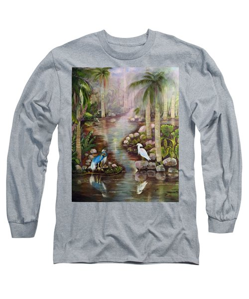 Tropical Fog Long Sleeve T-Shirt