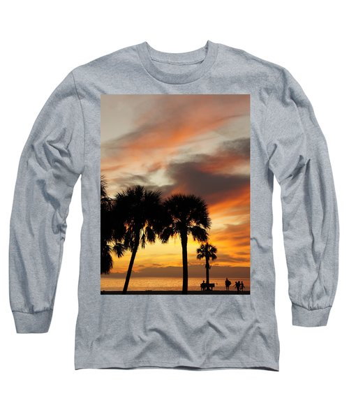 Long Sleeve T-Shirt featuring the photograph Tropical Vacation by Laurie Perry