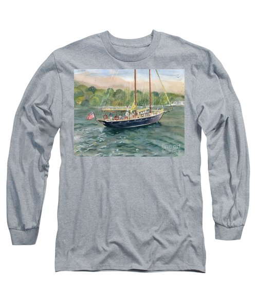 True Love Schooner Long Sleeve T-Shirt