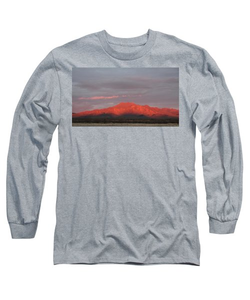 Long Sleeve T-Shirt featuring the photograph Tucson Mountains by David S Reynolds