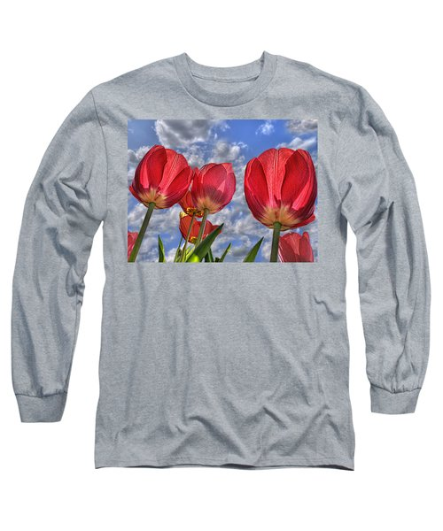 Tulips Are Better Than One Long Sleeve T-Shirt