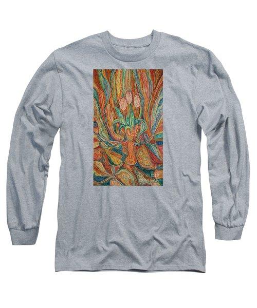 Tulips I Long Sleeve T-Shirt by Anna Yurasovsky