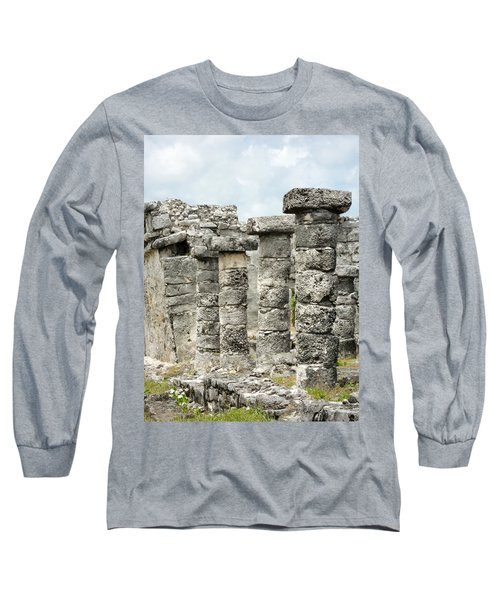 Long Sleeve T-Shirt featuring the photograph Tulum by Silvia Bruno