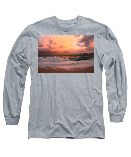 Long Sleeve T-Shirt featuring the photograph Turbulence  by Eti Reid