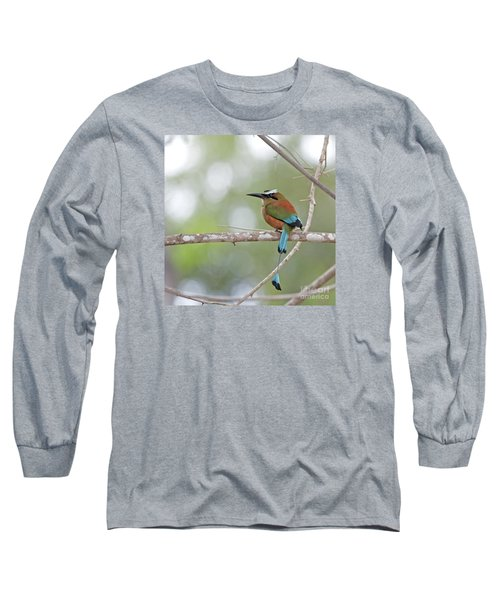 Turquoise Pendant.. Long Sleeve T-Shirt by Nina Stavlund
