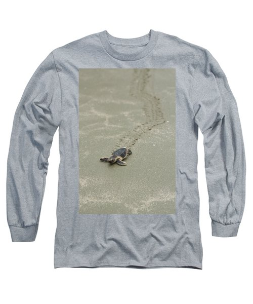 Turtle Tracks Long Sleeve T-Shirt