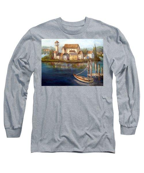 Tuscan Italian Paintings Long Sleeve T-Shirt