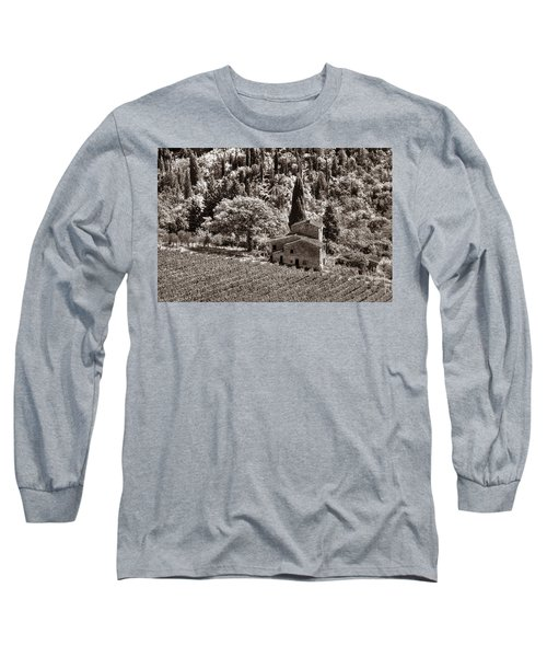 Tuscan Vinyard Long Sleeve T-Shirt