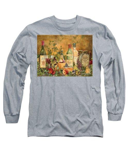 Tuscan Wine Treasures Long Sleeve T-Shirt