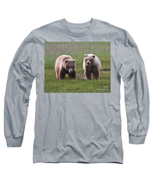 Twin Bear Cubs Long Sleeve T-Shirt