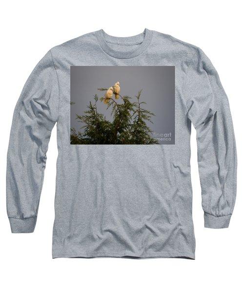 Twin Cockatoos Long Sleeve T-Shirt