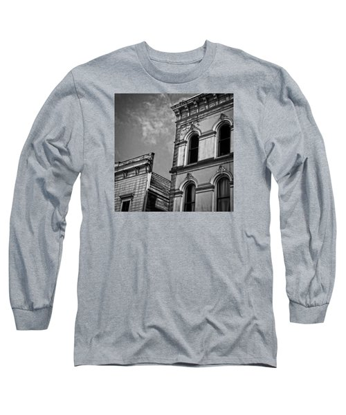 Two Facades Long Sleeve T-Shirt by Mark Alder
