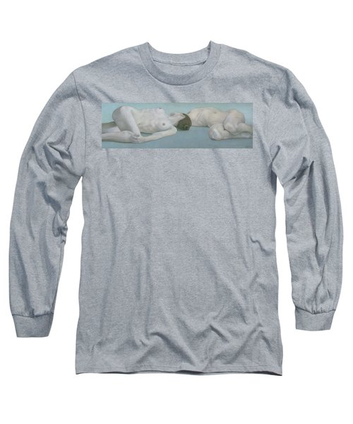 Two Figures Lying Long Sleeve T-Shirt