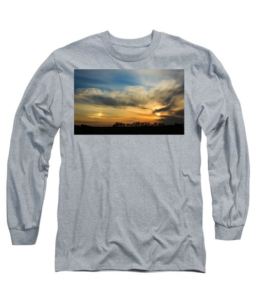 Long Sleeve T-Shirt featuring the photograph Two Suns Over Kentucky by Peta Thames