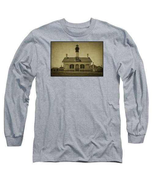 Tybee Lighthouse Long Sleeve T-Shirt by Priscilla Burgers