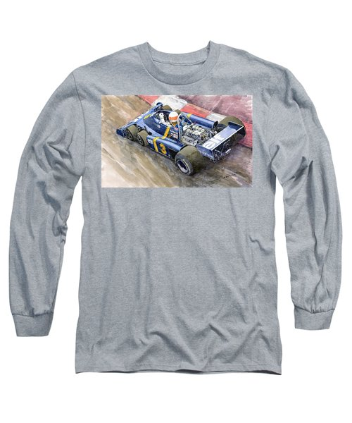 Tyrrell Ford Elf P34 F1 1976 Monaco Gp Jody Scheckter Long Sleeve T-Shirt