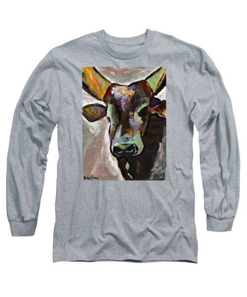 Ugandan Long Horn Cow Long Sleeve T-Shirt
